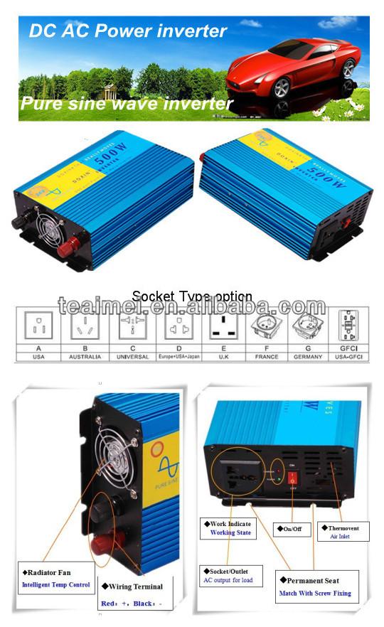 Reiner Sinus Wechselrichter Dc 12v-220v Schaltplan 500w - Buy ...
