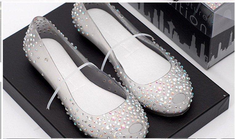 Ladies Melissa Diamond Crystal Sandals Women Swarovski