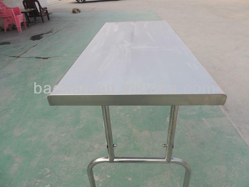 Mesa acero Comedor De Diseños W35 mesa Plegable Acero Alta Buy Calidad Plegable Inoxidable Inoxidable Bn vNw08mnO