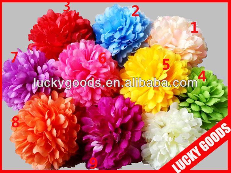 cheap gerbera daisy flower heads,artificial flower heads