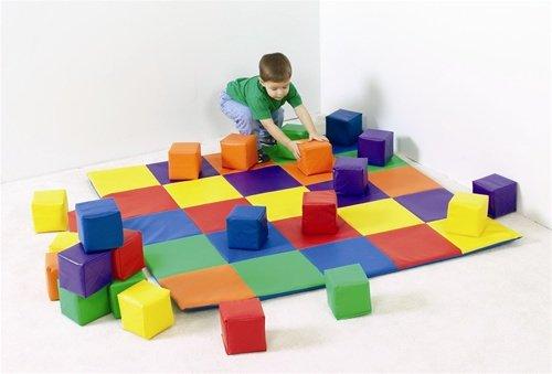 nouveau design cologique patchwork enfant b b tapis de. Black Bedroom Furniture Sets. Home Design Ideas