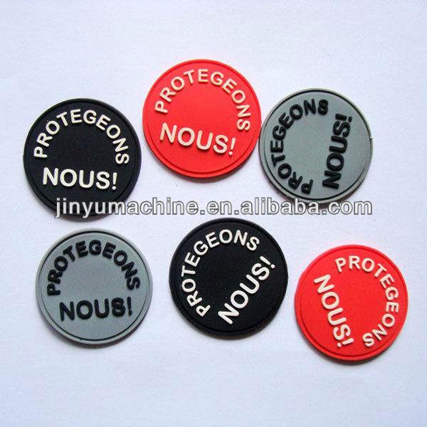 silicone label/trademark