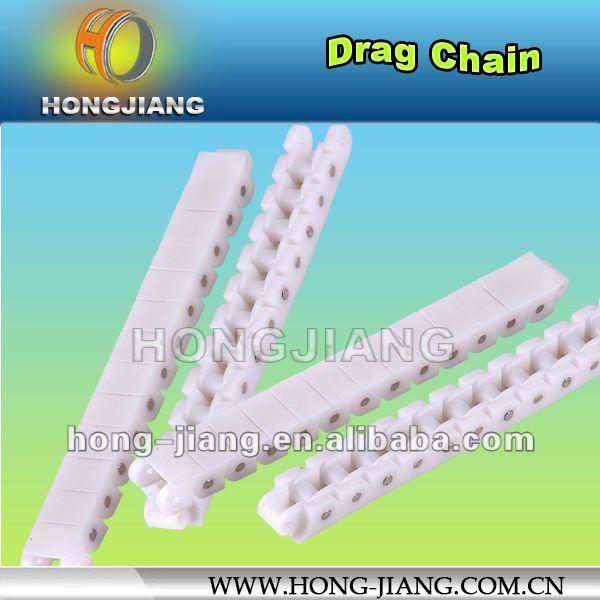 Cadena de arrastre de plástico H1108 Dupont, cadena transportadora de caja