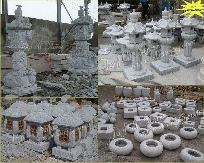 Outdoor Granite Basins, Japanese garden bowls and basins