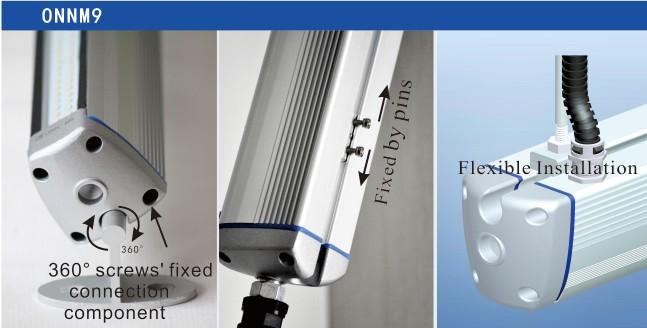 Onn-m9 industriale macchina di lavoro ha condotto la luce/ip65 lampade di lavoro