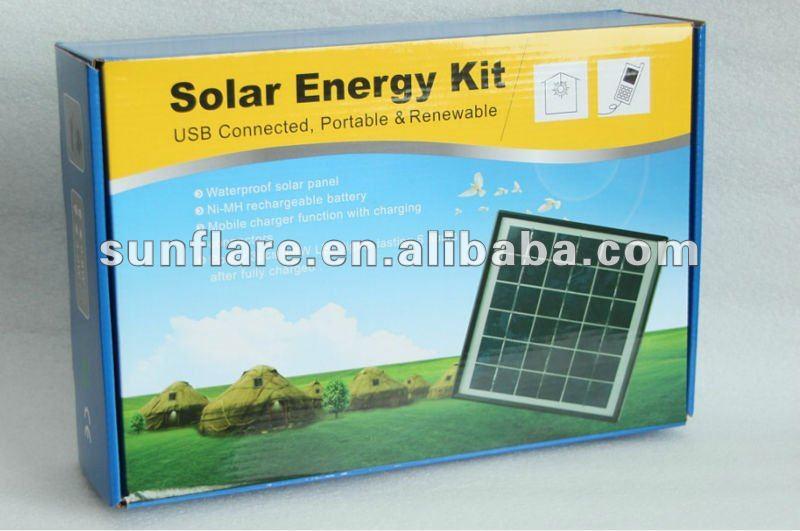 Sistema de energía solar 6W