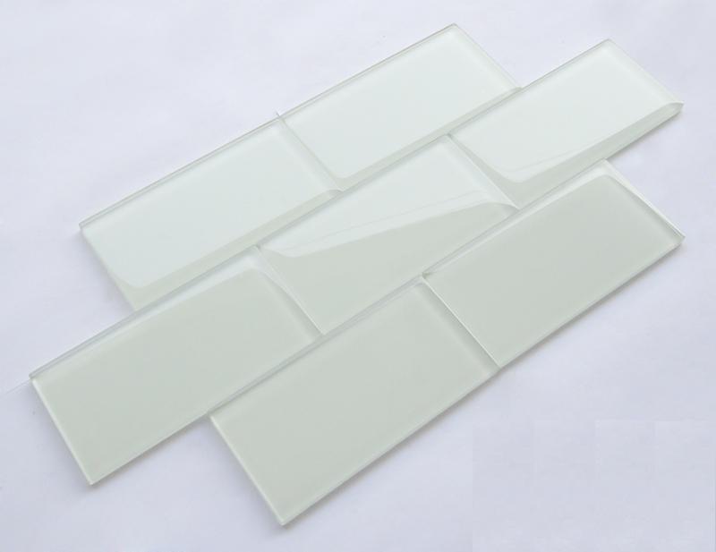 Subway piastrelle di vetro per la cucina e bagno parete di vetro