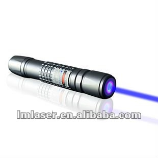 450nm 1000mw blue laser pointer burning match and cigars with 5 star head and waterproof