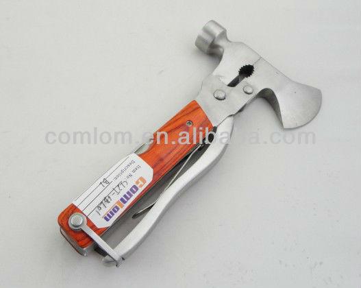 Pince Multifonctions Cadeau Homme Original,31 en 1 Acier inoxydable Couteau,dont une Marteau et Cl/é /à Flocon de Neige,pour des Activit/és Ext/érieures Randonn/ée camping