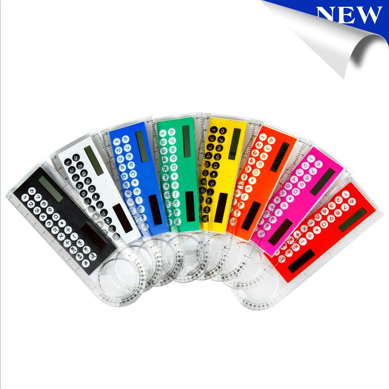 Solar Magnifier Calculator Fashion Multifunction 1...