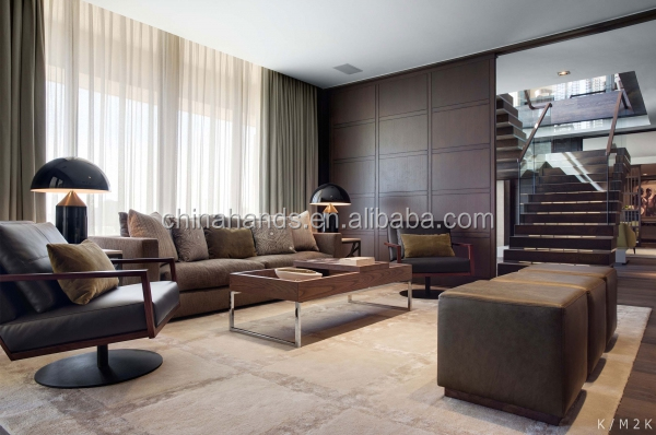 MA1479 Modern  Bedroom Furniture Interior Design Serviced Apartments Furniture