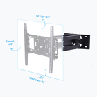 "Tv Full Motion TV Wall Mount 32"" 37"" 42"" 46"" 50"" 55"" 60"" 65"" 70"" TV Mount Swivel/"