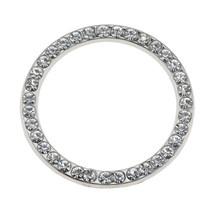 """1 шт. 40 мм/1,57 """"кнопка включения автомобиля декоративные алмазные стразы кольцо круг отделка Авто декоративные аксессуары для автомобиля(Китай)"""