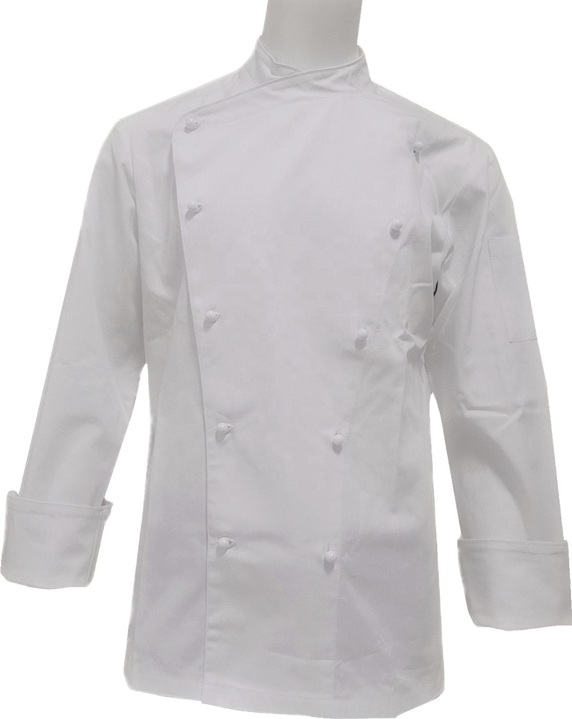 Şef üniforma garson ceket ceketler birçok renk siyah beyaz Xxl pamuk Unisex Oem ürün