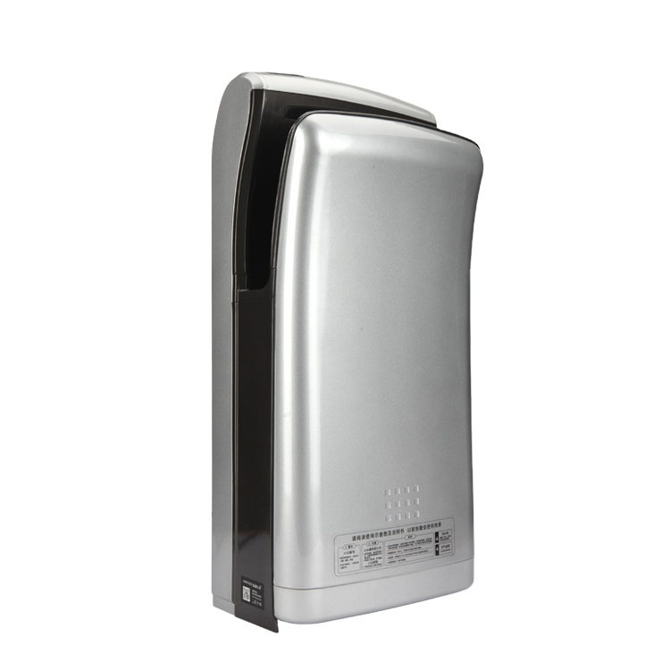 Automatic high speed jet hand dryer 2000w suitable for hotel