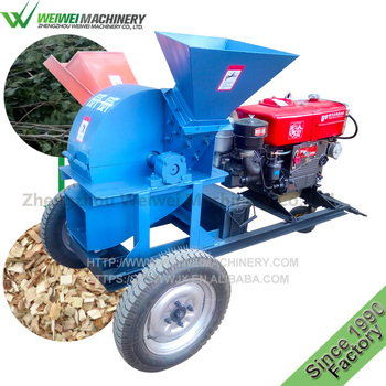 Weiwei wood grinder electronic wood pallet crusher wood chipper for sale