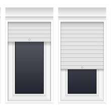 Oem Manufacturer Indoor Small Safety Roll Up Window Shutters