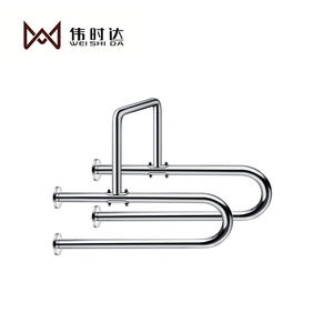 Bathroom Accessories Grab Bars SS304 stainless steel handrail, bathroom handrail. armrest Thickened 25 tubes finishing polish
