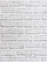 LUCKYYJ кожура и палка искусственный кирпич обои белый/серый винил самоклеющиеся контактная бумага ванная комната декоративные наклейки на ст...(Китай)