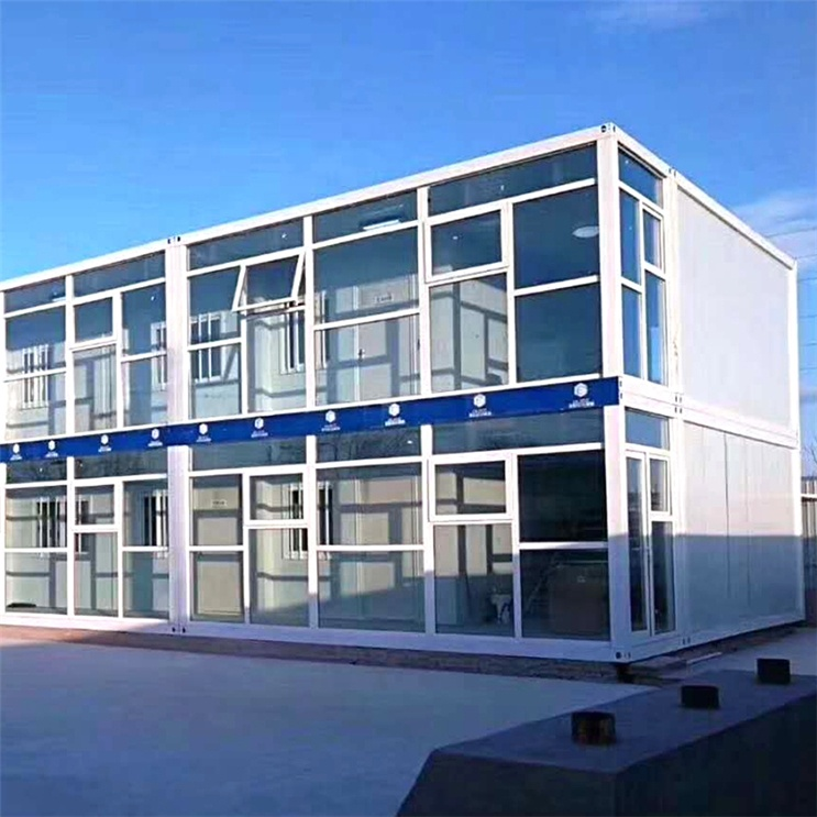 SGS certified long service life light steel fast build low cost prefabricated homes 20ft  prefab  container house