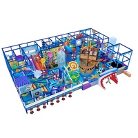 Ocean Theme Fun Toddler Soft Play, Wholesale Indoor Playground Equipment For Sale