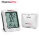 ThermoPro TP60S Wireless Indoor Outdoor Digital Hygrometer Thermometer with 60M Range Temperature Humidity Sensor