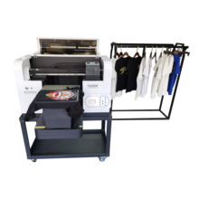 A3 Size 2 Xp600 Printkoppen Custom Doek Textiel Zak Printer T-shirt Drukmachine