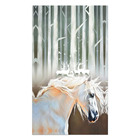 Custom wall art running horse canvas oil painting to print