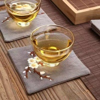 Factory direct cotton absorbent coffee coaster