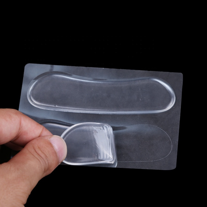Invisible Gel Silicone Heel Grips Liners Shoe Insole Grip Heel Liner Gel Cushion Pads Foot care Protector