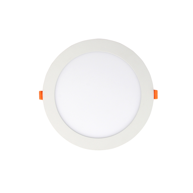 faner lighting 8 inch led panel light Factory price 2 years 85-265V Ceiling Recessed Round Ultra Silm 3w 4w 6w 9w 12w 15w 18w