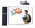 Digital electronic touchable portable interactive smart whiteboard smart board