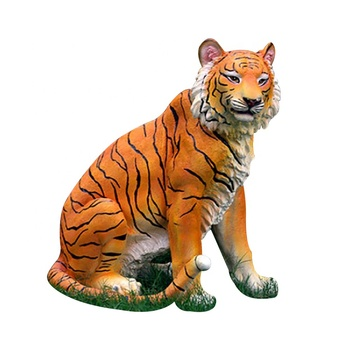 theme park realistic tiger design for real size
