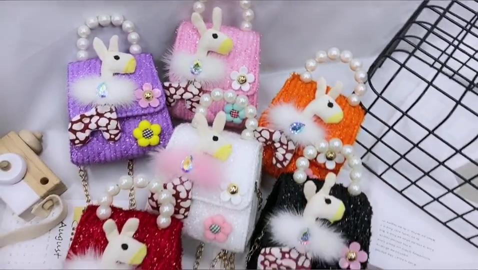 Seiten taschen für Mädchen Schulter handtaschen Kinder Designer Rucksack Geldbörsen Umhängetaschen