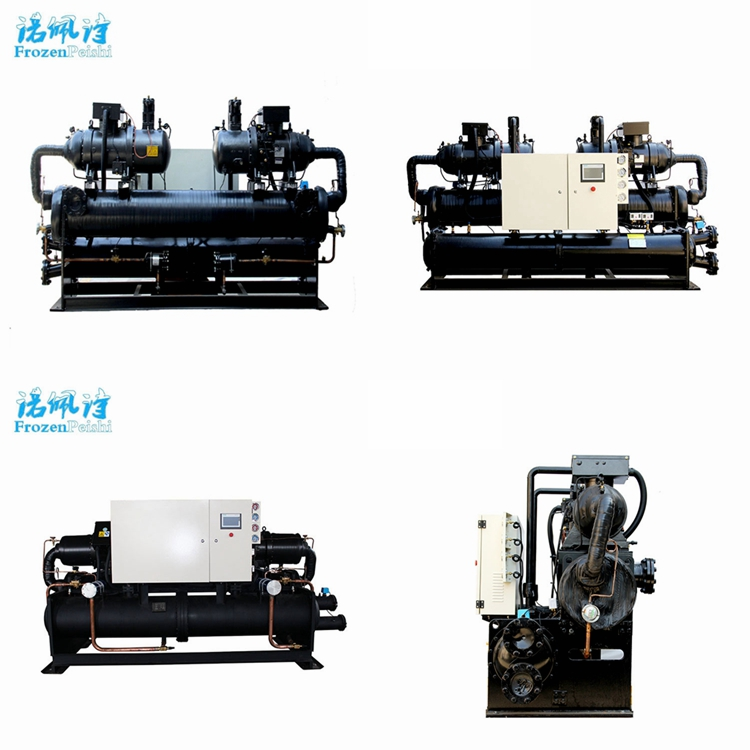 Units refrigeration water screw cooled chiller for injection molding