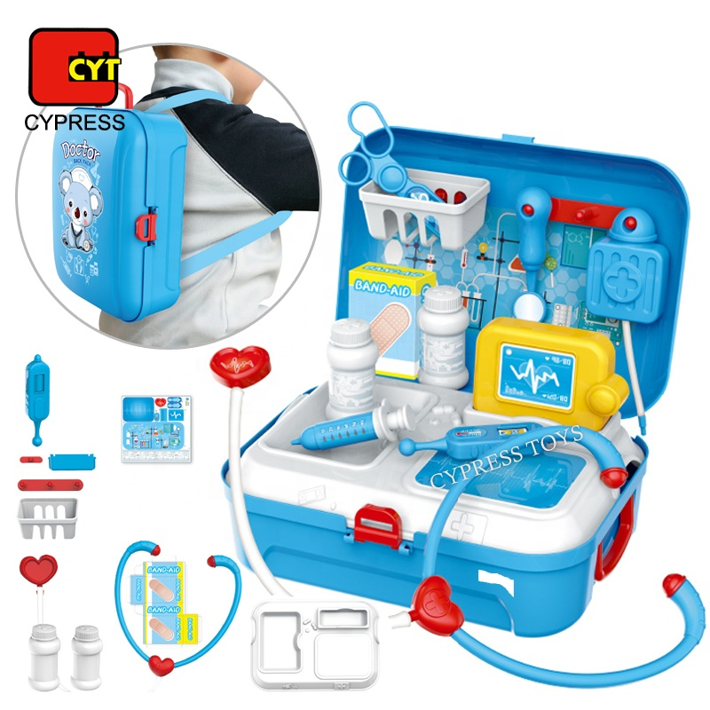 Most Popular DIY Pretend Play Operating Table Doctor Toys Set Kit For Kids