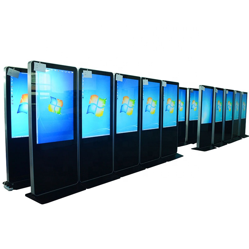 "55 ""stand digital signage display, totem, lcd werbung kiosk"