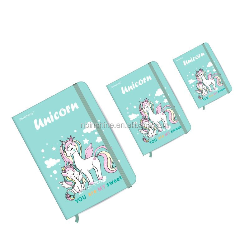 New Promotion simple modern colorful style school student notebook exercise note book for sale