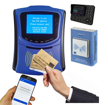 Public Transportation Ticket Management System for Bus Validator support RFID Card and QR Code, Tap and Go Payment