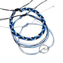 Женский винтажный браслет-цепочка Bohemia, плетеный браслет в стиле милитари, вечерние ювелирные изделия, Прямая поставка 0427(Китай)