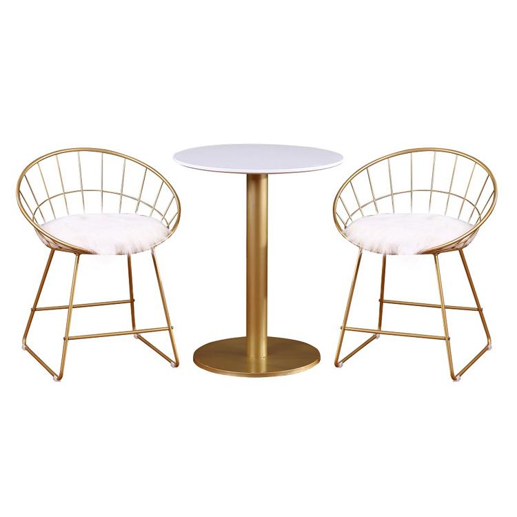 नि: शुल्क नमूने धातु सोने भोजन स्टील जाल लोहे काले आधुनिक गुलाब सफेद प्लास्टिक तांबा Dine फ्रेम Luci आउटडोर तार कुर्सी