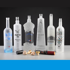 Wine Vodka Bottle Frosted Glass Liquor Bottle Premium Empty Cylinder Liquor Wine 750ml Frosted Glass Vodka Bottle 1000ml Wine Glass Bottle Wholesale