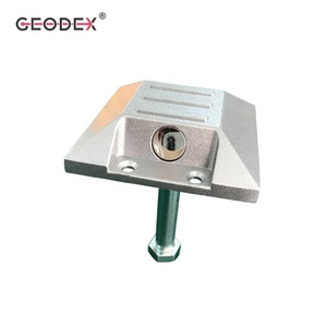 Square Road Optical Prism Monitoring Prism Survey Reflector Mini Prism for Road Construction and Subsidence Surveying