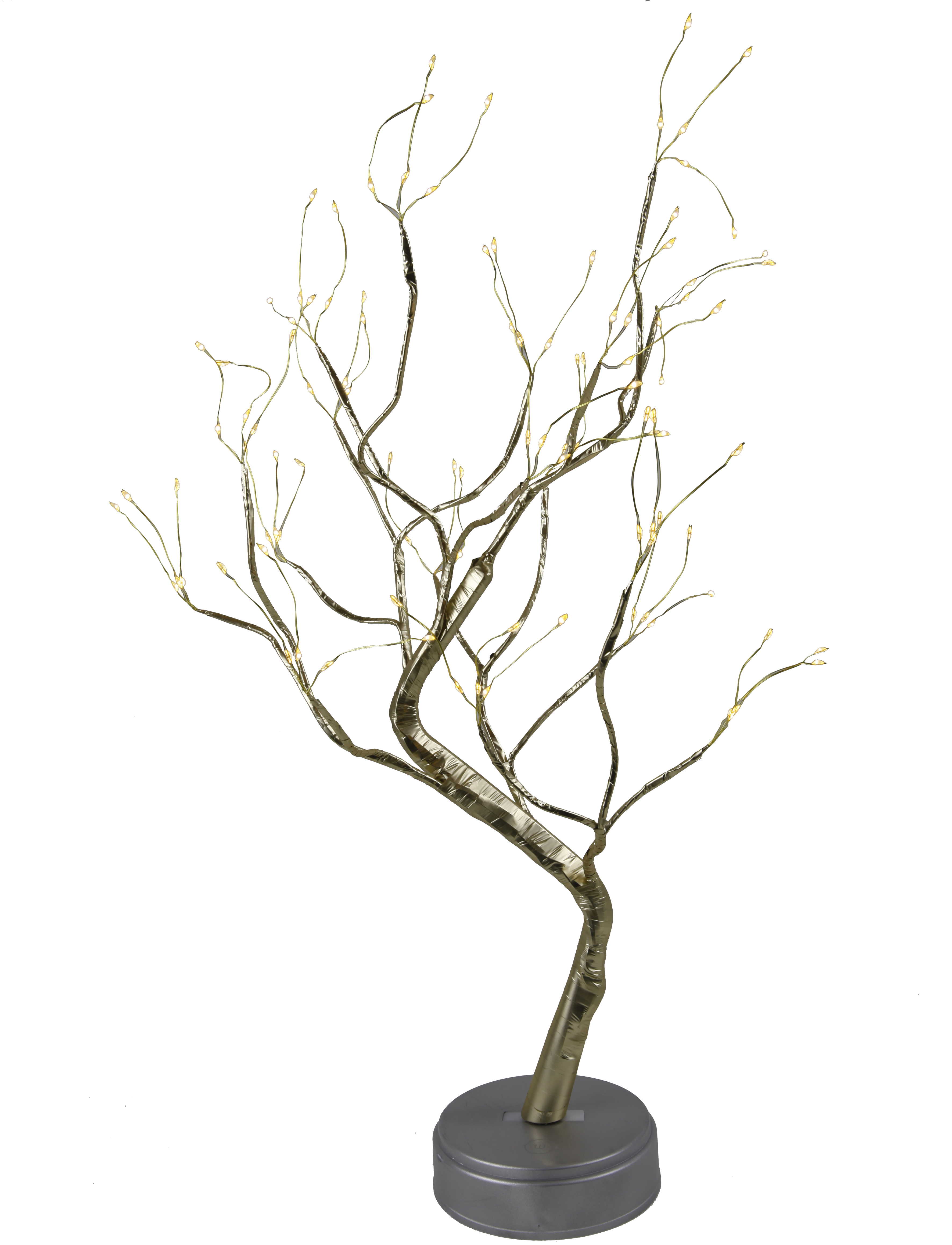 108 LED battery Fire Tree Light Copper Wire Table Lamps Night Light