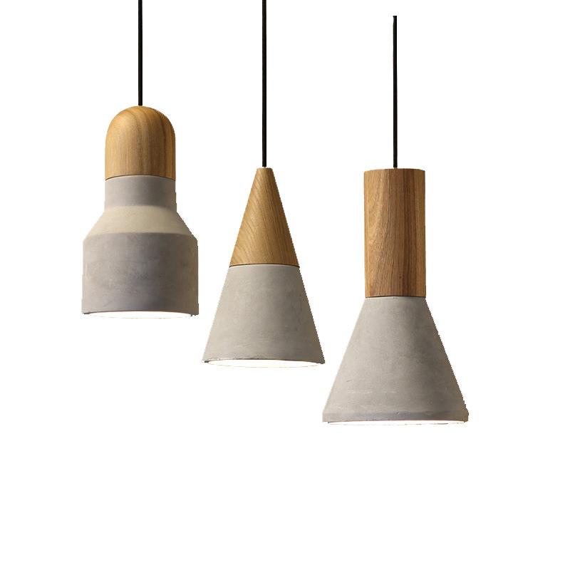 China Moderne Design Hängen Zement Lichter Dekorative Decke