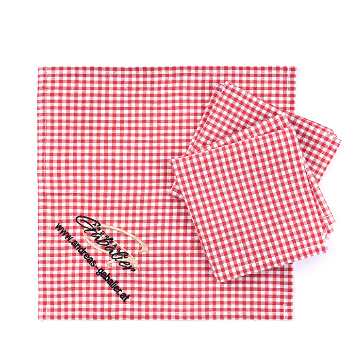 Dish Towels Kitchen Cotton Cloth Stoff Kitchen Microfiber Cloth Linen Dish Towel Cuisine Dishes Dry Towel