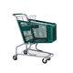 Wholesale supermarket cart equipment steel Grocery Plastic push market shopping trolley