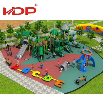 Gold Supplier Hot Selling Nature Series Kids Plastic Outdoor Playground With Slide