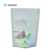 Holographic Rainbow Shine Plastic Packaging Resealable Foil Mylar Child Resistant AYW Zipper Bags with Clear Window