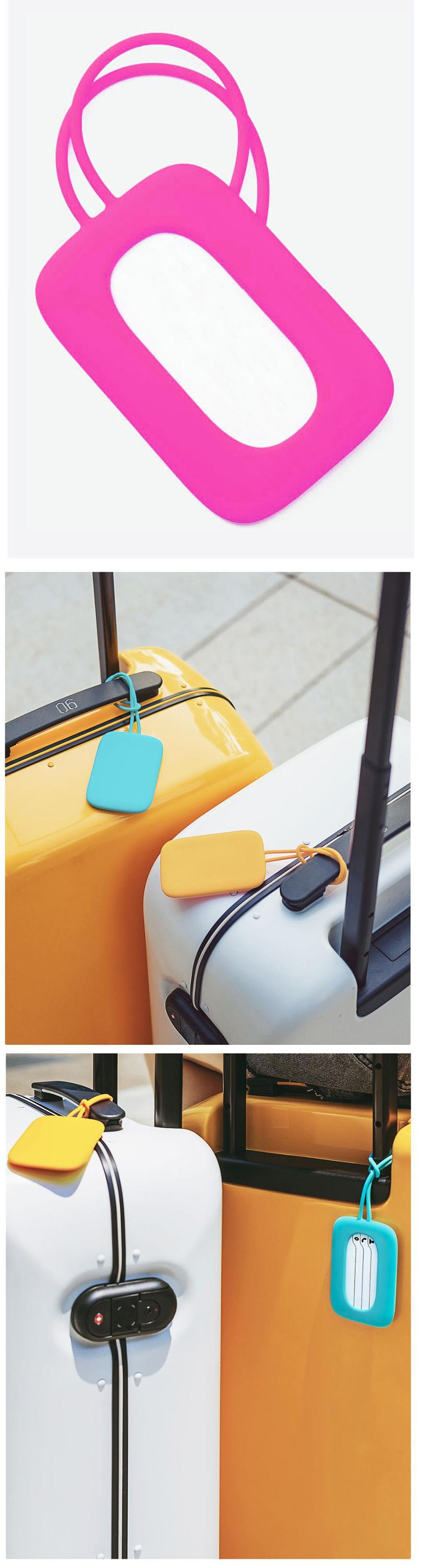 Make your own cheap custom waterproof plastic hotel rubber silicone writable recycled rpet luggage tag pvc Tag